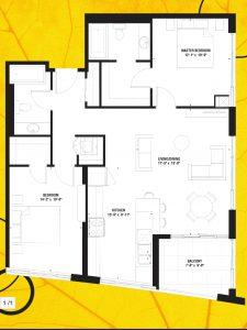 2522 Keele St floor plans
