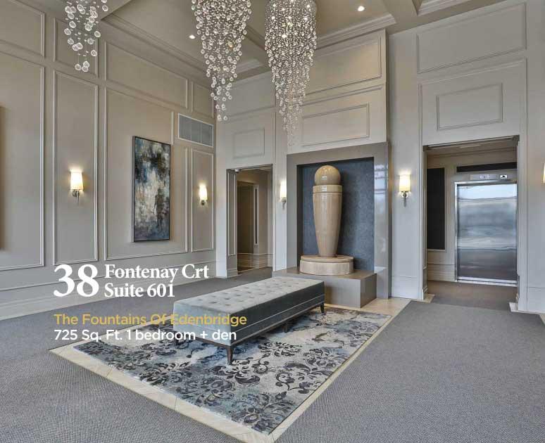 38 Fontenay Crt #601